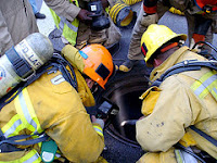 An LAPD Officer was injured when this manhole exploded. Click to view more...