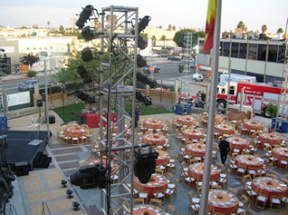 LAFD Greater Alarm Gala preparations...