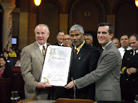 Photo of Robert Gladden in City Council Chambers courtesy of Council District 13. Click to learn more...