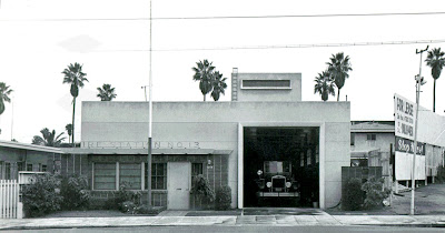 Former LAFD Station 13 circa 1957. Click to learn more...