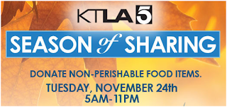 KTLA Season of Sharing. Click to learn more...