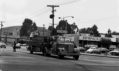 1943 LAFD Kenworth Aerial Ladder Truck. Click to view more...