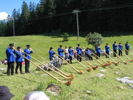 Juli 2009 - Schwägalp-Gottesdienst