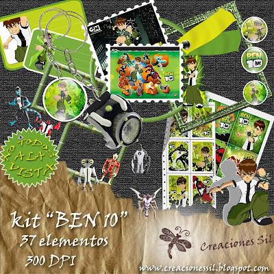 http://creacionessil.blogspot.com/2009/11/kit-ben-10.html