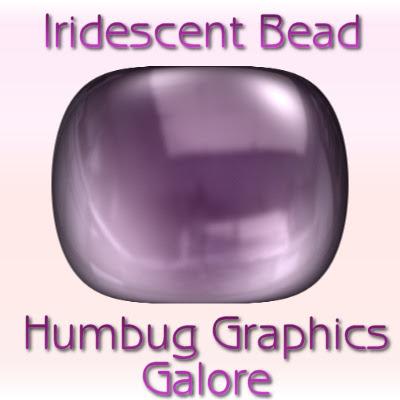 http://humbuggraphicsgalore.blogspot.com/2009/06/iridescent-bead.html