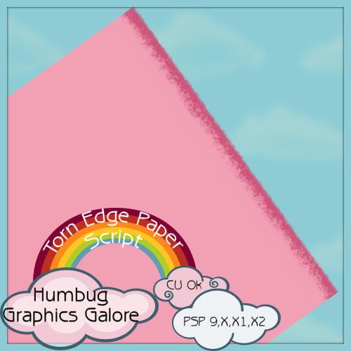 http://humbuggraphicsgalore.blogspot.com/2009/10/torn-edge-paper-script.html
