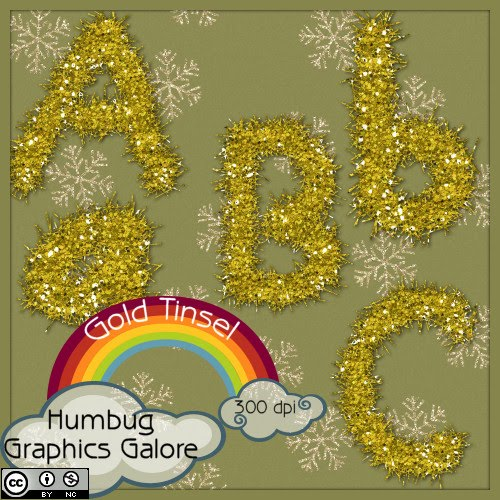 http://humbuggraphicsgalore.blogspot.com/2009/12/gold-tinsel-alpha.html