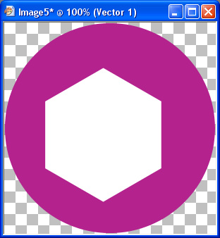 draw out a hexagon on the