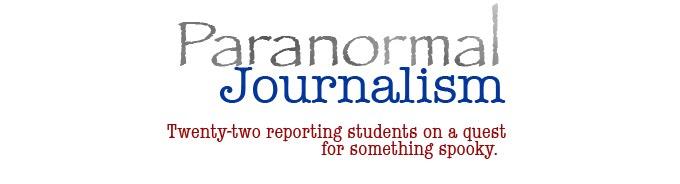Paranormal Journalism