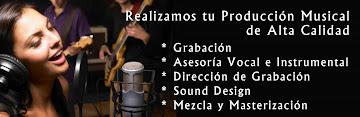 GRABACION Y PRODUCCION MUSICAL
