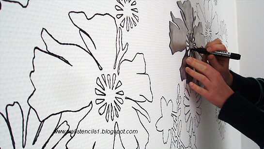 stencils for wall style stencils for wall paint stencils for wall. Black Bedroom Furniture Sets. Home Design Ideas
