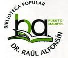 """BIBLIOTECA POPULAR """"DR. RAÚL ALFONSÍN"""""""