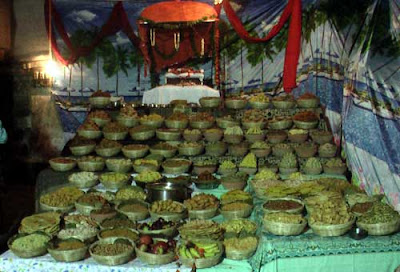 Prasadam is next level food 56 sacred items of chhapan bhog 5 pachila kadali ripe banana 6 kanika flavoured rice 7 tata khechudi dry khechudi 8 mendha mundia a kind of cake thecheapjerseys Image collections
