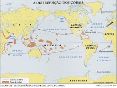 Corais no Mundo