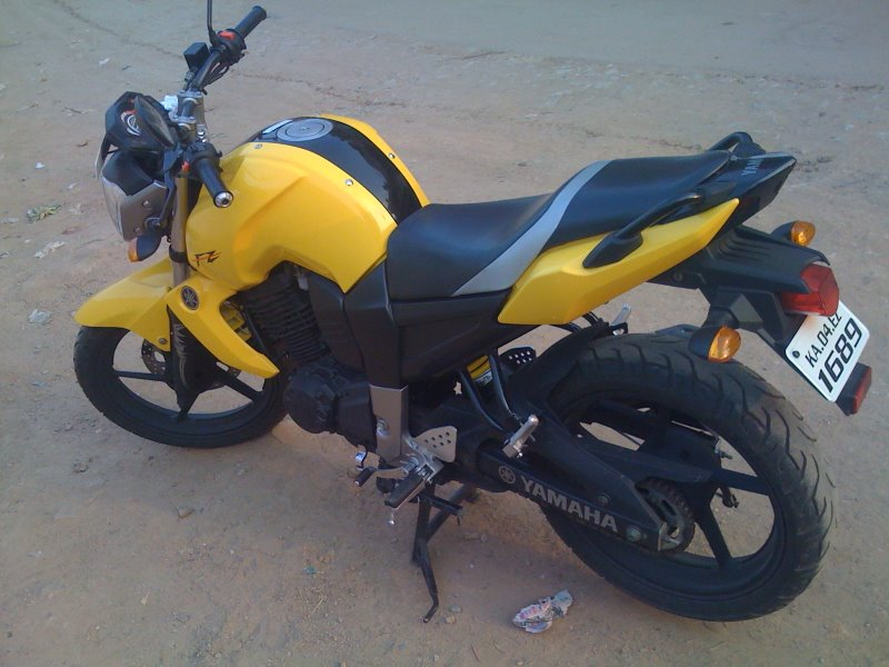 Yamaha fz 16 modified