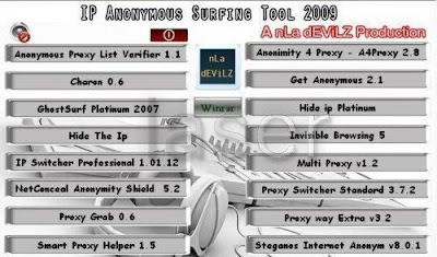 IP Anonymous Surfing Tool 2009