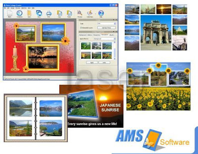 AMS Photo Collage Creator 3.15