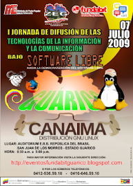 I Jornada de Difusión de las Tecnologías de la Información y Comunicación bajo SOFTWARE LIBRE