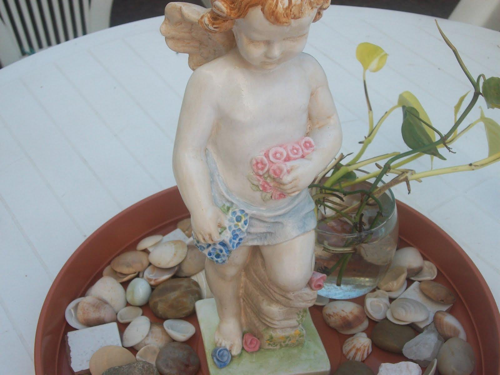 Pinta conmigo abril 2010 - Angelitos de yeso ...