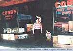 Cobb Grocery, Arapaho, Oklahoma 1950s
