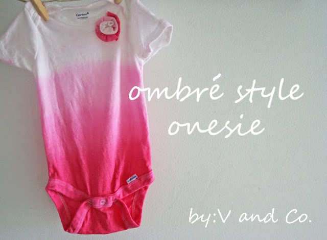 Ombre Style Onesie - V and Co.