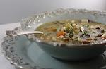 Turkey Mushroom Barley Soup