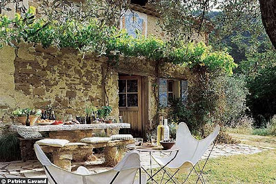 French Garden Design on Cote De Texas  A Country French House  Authentic Elements