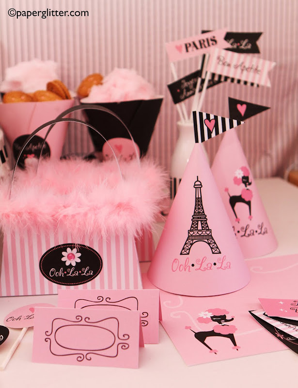 Paris Themed Birthday Party Supplies