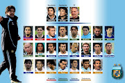 . de la selección argentina que acaba de ser editado en ese país. foto seleccion argentina