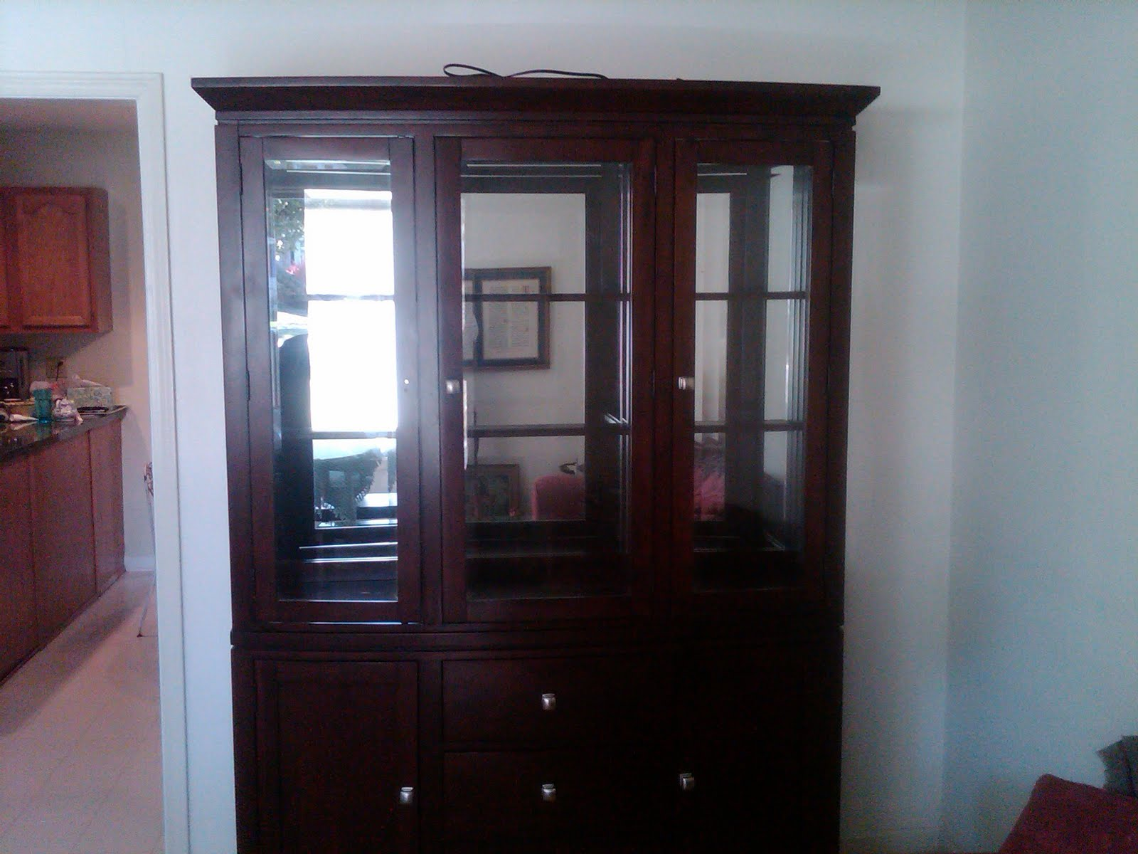 Customer Inspiration John And Deanna 39 S Beautiful From New To Old China Cabinet Story Bobs