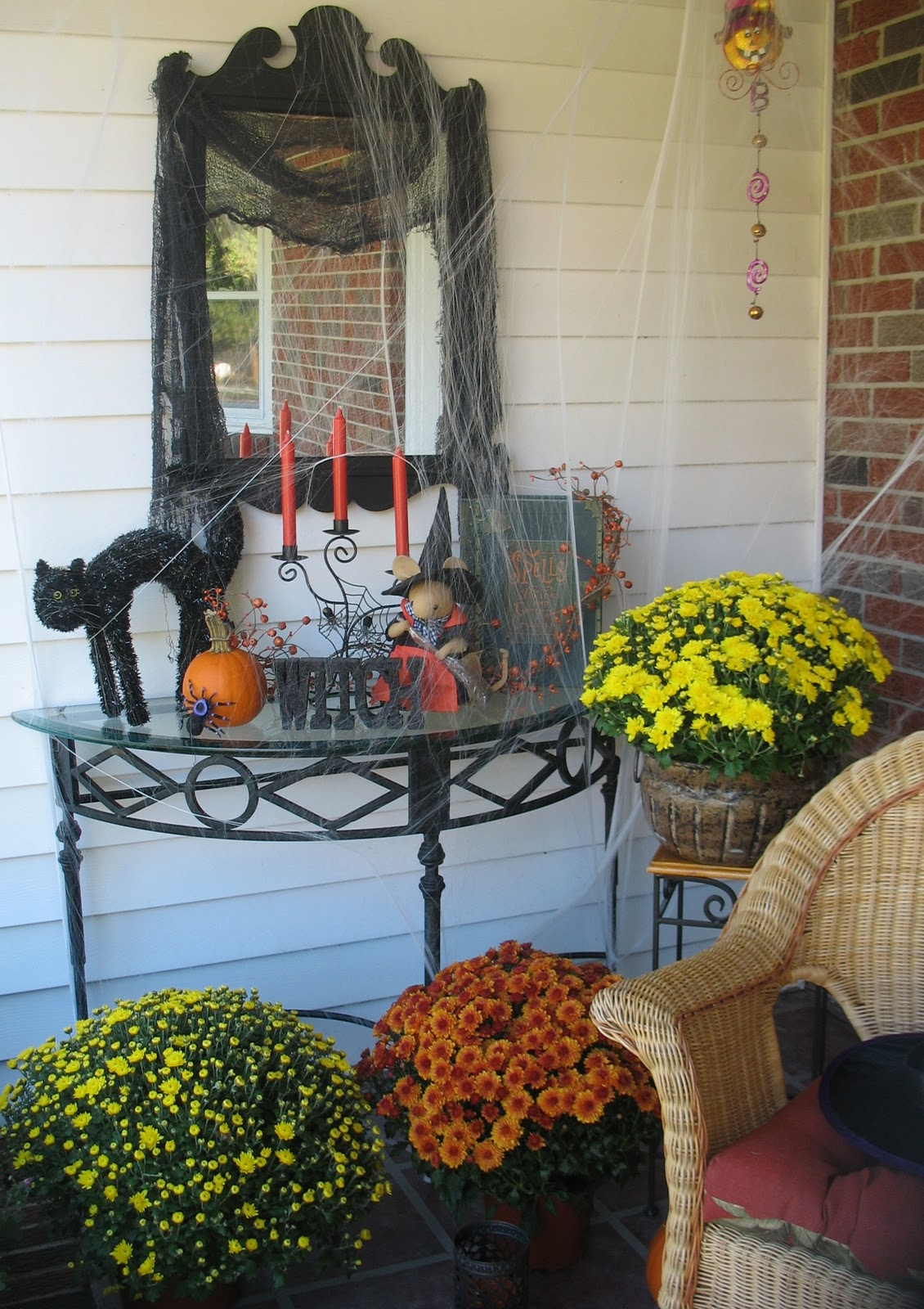 21 Rosemary Lane Decorating The Front Porch For Halloween