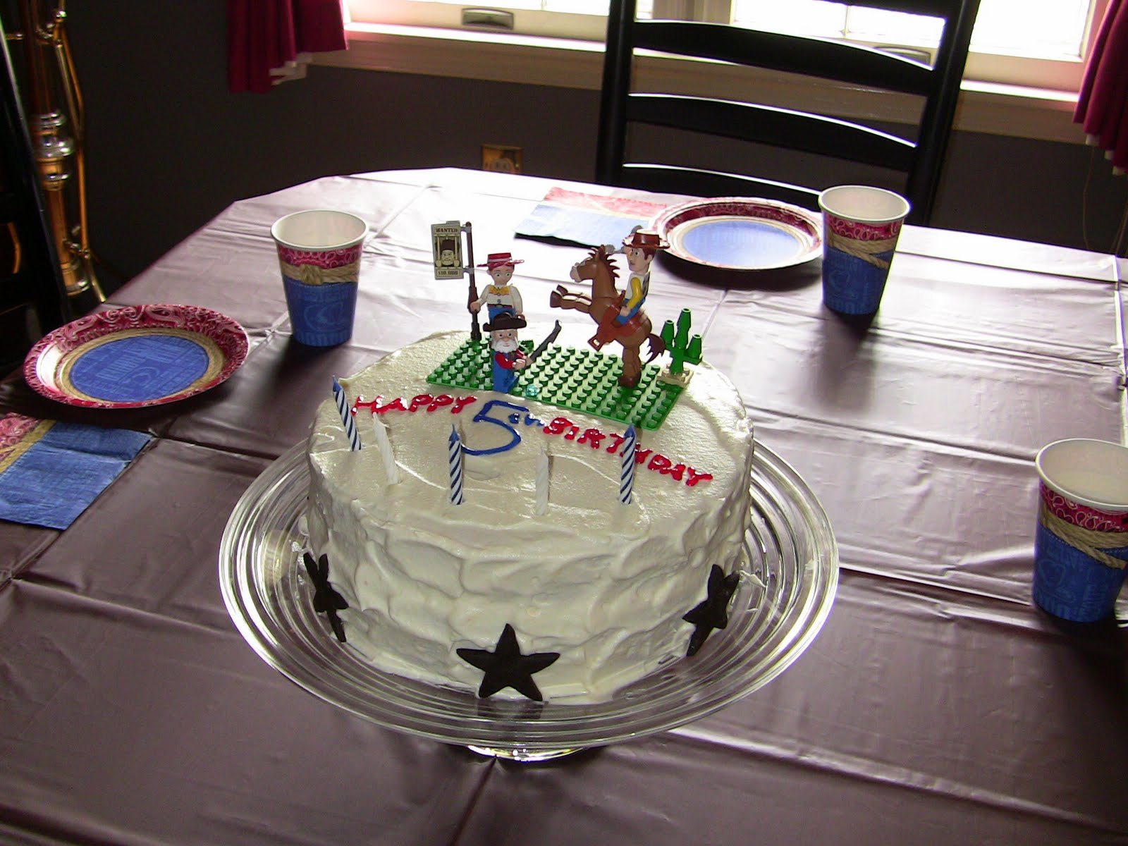 Apple Falls Cowboy Birthday Party