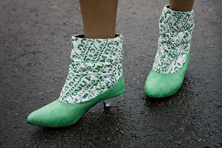 Botas Dacca :  fashion green design upcycled boots