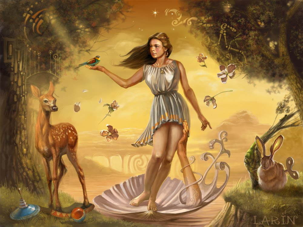 penratorant venus the goddess of love and beauty