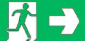 new age exit sign