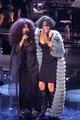 Chaka Khan e Whitney Houston