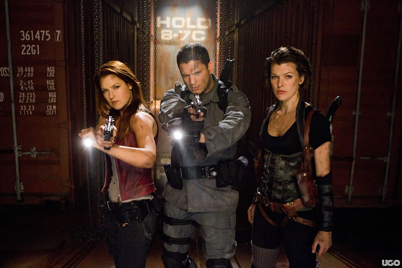 Wentworth Miller as Chris Redfield