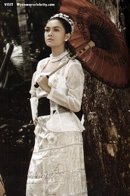 Just Fashion: Traditional Burmese clothing...