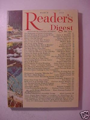Reader's Digest March 1959 Jack Benny Edith Hamilton  + - eBay (item 250367482808 end time  Apr-30-09 14:12:56 PDT)