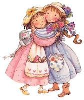 pfl filles jardin Imagens fofas!! para crianças