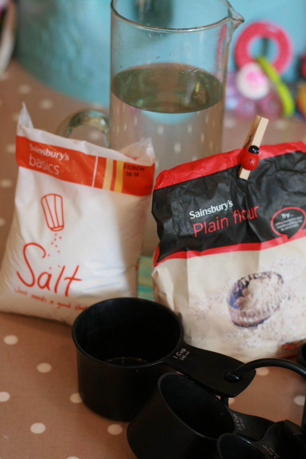 Salt Dough Craft Ideas For Kids Part - 26: Salt Dough Handprints
