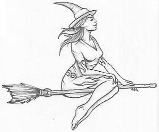 imagens para tatuagem desenhos de bruxinhas para tatuagem