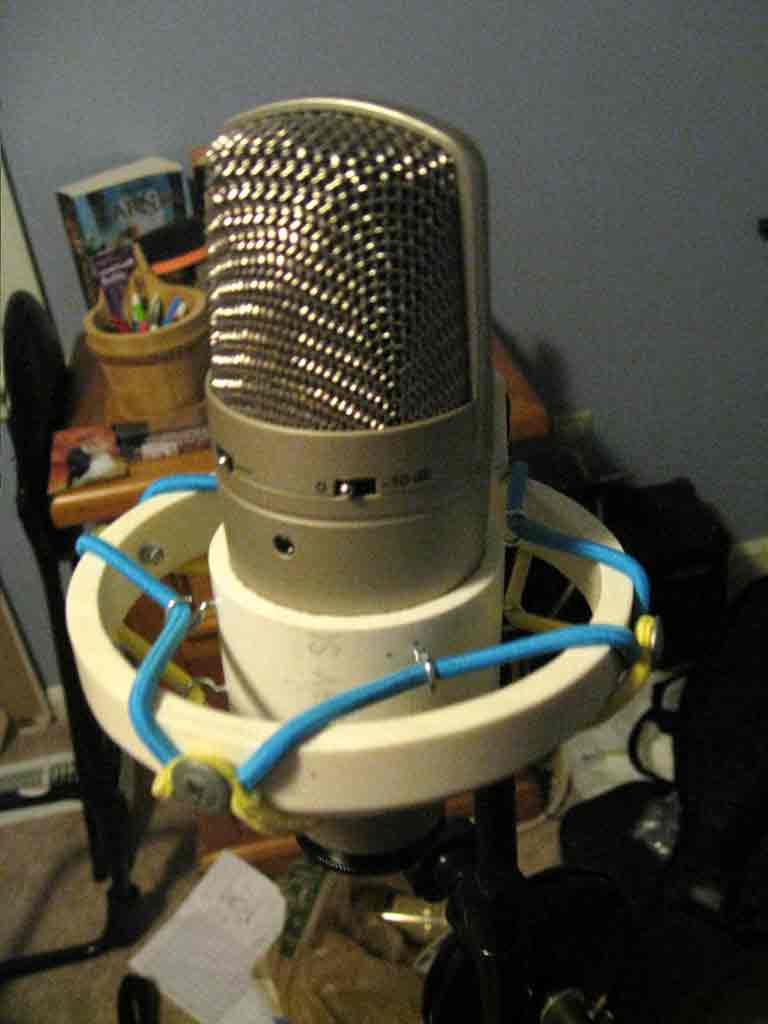 Pill Music Diy Microphone Shock Mount For Large