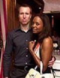 Jeff Feitjens and Aisha Tyler