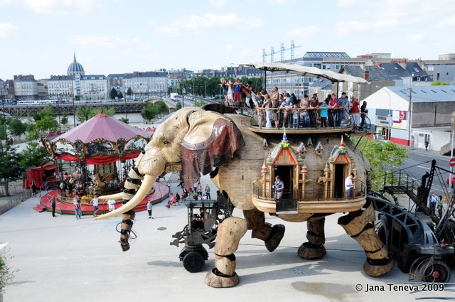 Elephant from les Machines de l'Ile de Nantes
