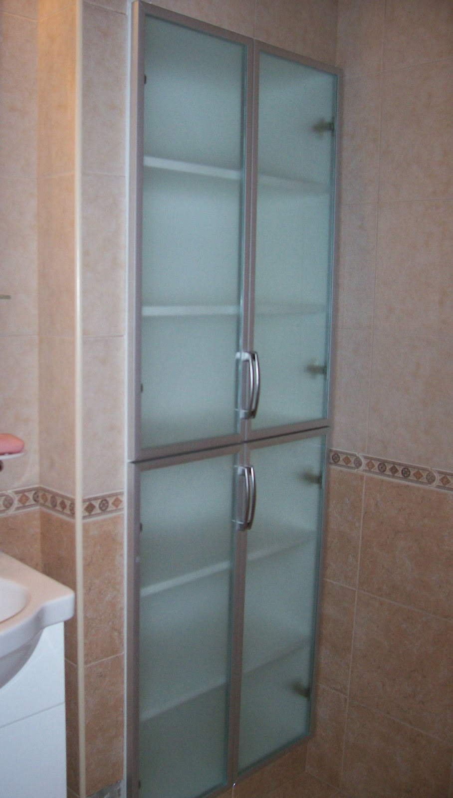 deco vanguardia mueble de ba o aluminio y vidrio