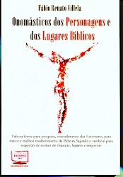 Personagens e Lugares Bíblicos - Onomástico das