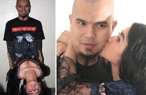 Foto Hot dewi persik dan ahmad dhani, foto ciuman, foto sex
