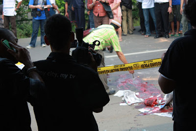 Foto korban tewas bentrokan ampera pn jaksel