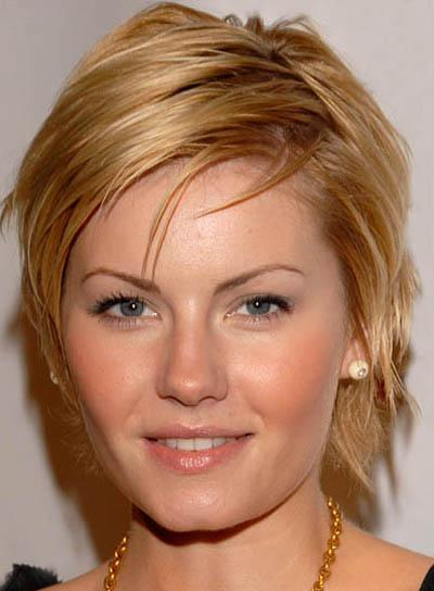 short hairstyles for round faces and thick hair. Haircuts For A Round Face.
